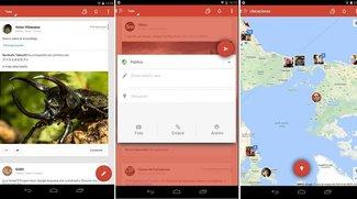 Google+ für Android: Erste Screenshots zeigen neues Design