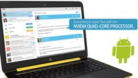 HP Slatebook 14: Touchscreen-Laptop mit Nvidia Tegra-CPU und Android-Betriebssystem
