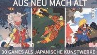 Aus neu mach alt: Künstler verwandeln Games in japanische Holzschnitte