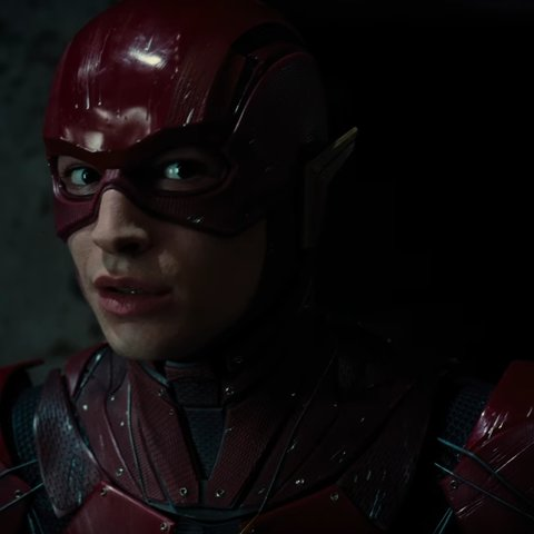 Ezra Miller als Flash // ©DC & Warner Bros.