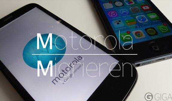 Motorola Migrieren: Von iOS zu Android - Test und Anleitung