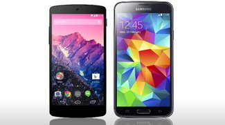 Samsung Galaxy S5 vs. Google Nexus 5: Der direkte Vergleich