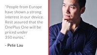 OnePlus One wird in Europa unter 350 Euro kosten