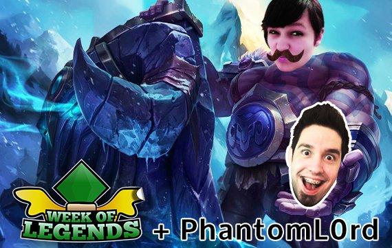 Week of Legends #1: Neuer Support-Champ und PhantomL0rd im Interview