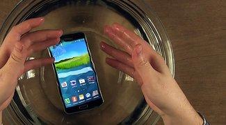 Samsung Galaxy S5: Fotos unter Wasser