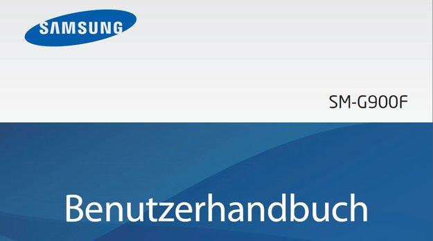 Samsung Galaxy S5: Bedienungsanleitung auf Deutsch verfügbar [PDF-Download]