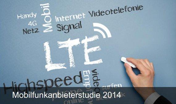 Mobilfunkstudie 2014: Wie zufrieden seid ihr mit eurem Anbieter?