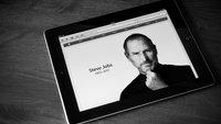 Steve Jobs' Tod, ein Anlass für Samsung-Werbekampagne