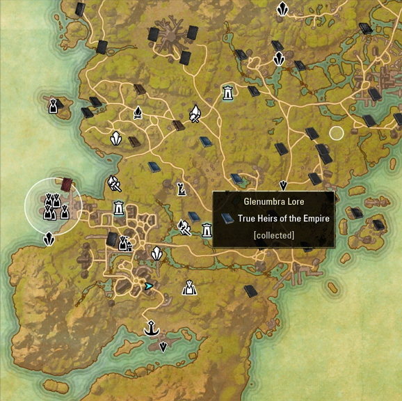 Top 10 ESO Addons: Alle LoreBooks auf der Map anzeigen -