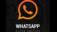 WhatsApp Black Edition: SO hat ein Messenger auszusehen