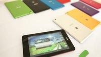 Acer Iconia One 7 & Tab 7: Neue Einsteiger-Tablets vorgestellt