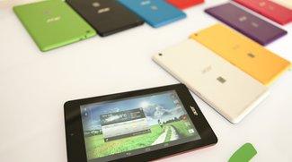 Acer Iconia One 7 &amp&#x3B; Tab 7: Neue Einsteiger-Tablets vorgestellt