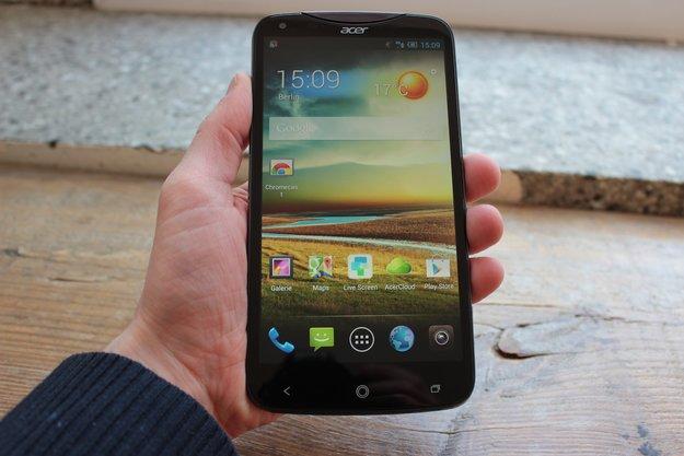 Acer Liquid S2 im Test: Dicker Brummer mit Ambitionen