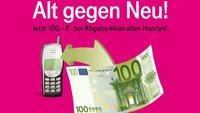 Alt gegen Neu bei Telekom: 100 € Prämie für altes Handy oder Smartphone