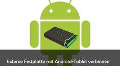 Externe Festplatte an Tablet anschließen: Anleitung für Android