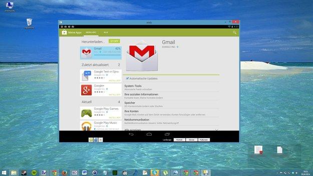 AndY: Neuer Android-Emulator für PC &amp&#x3B; Mac macht Bluestacks Konkurrenz