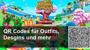 QR Codes für Animal Crossing: New Leaf – Outfits, Designs und Kleider