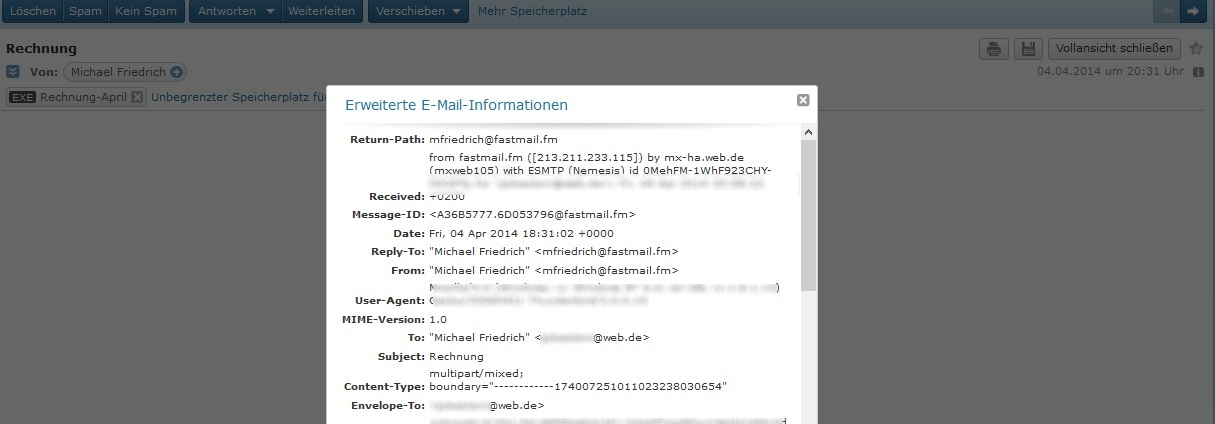Rechnung von Apay AG und Michael Friedrich per Mail: Was tun? – GIGA
