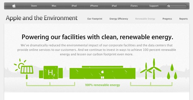 """Grüner Apfel: Apple will """"Earth Day"""" in Stores und in Cupertino feiern"""