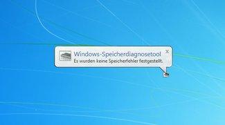 Arbeitsspeicher testen (XP, Vista, Windows 7, Windows 8 und Windows 10)