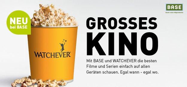 Watchever: BASE-Nutzer zahlen im 24 Monats-Paket bald nur 3,99 Euro/Monat