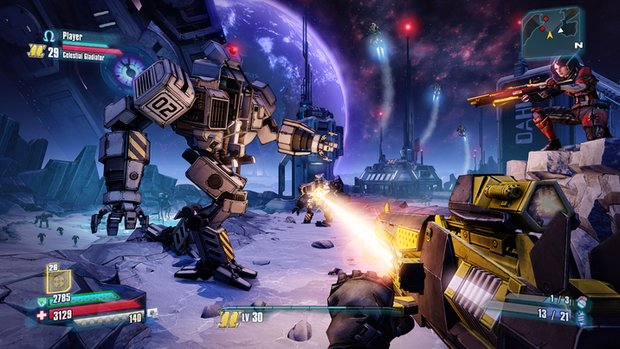 Borderlands - The Pre-Sequel: Erscheint im Oktober & Moon Dance-Trailer