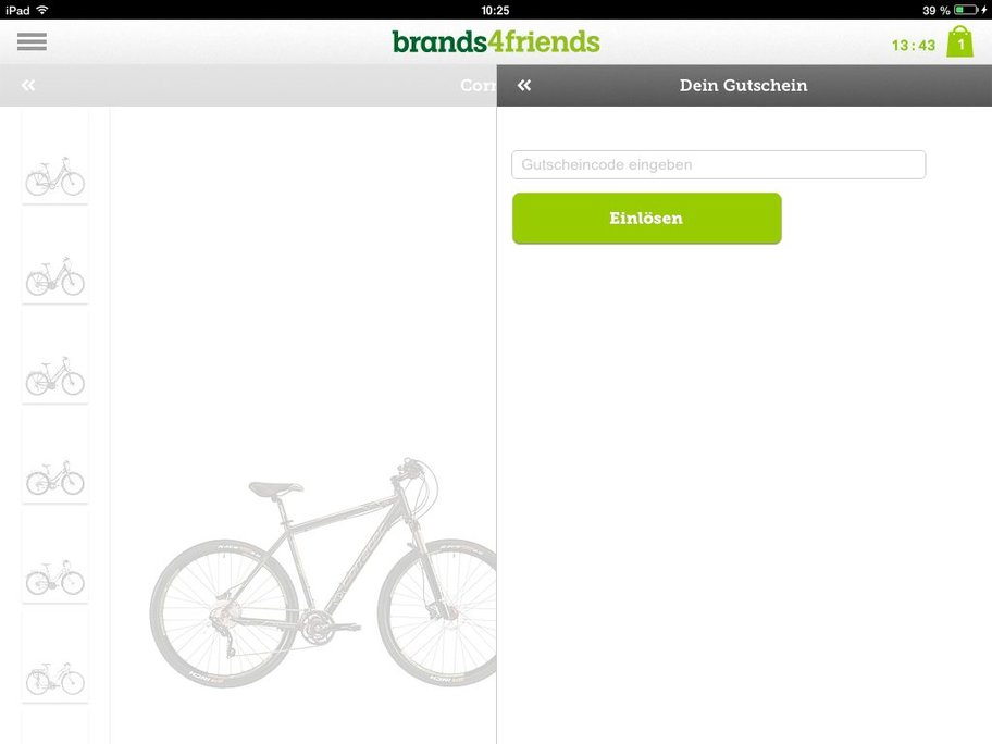 brands4friends app gutschein