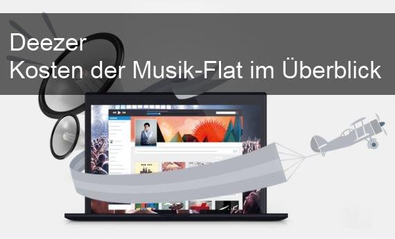 Deezer: Kosten pro Monat für die Musik Flat (PC, iPhone, Android)