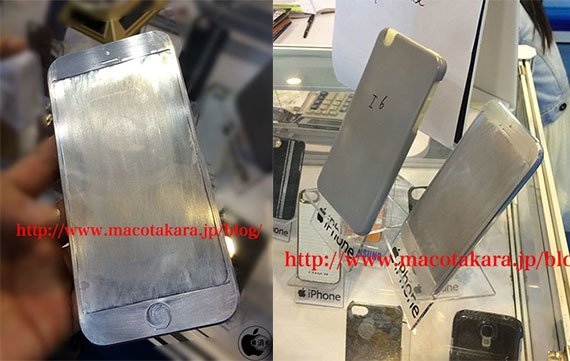 iPhone 6 Design-Dummies in Hong Kong entdeckt (Fotos und Video)