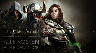TESO | The Elder Scrolls Online: Kosten im Überblick (PC, Xbox One, PS4)
