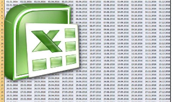 Jahreskalender in Excel erstellen: Mit wenigen Klicks zum Kalender