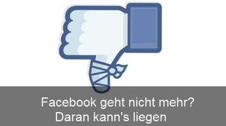 Facebook lädt nicht – Ursachen und Lösungen