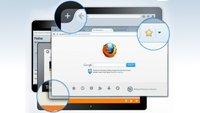 Firefox Australis: Tabs unter der Adressleiste anordnen