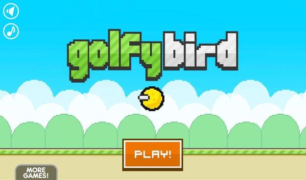 Golfy Bird: Retro-Golfspiel trifft Flappy Bird