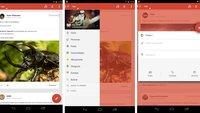Google+ für Android: Neues Design in Screenshots geleakt