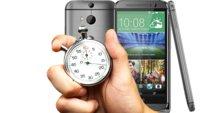 HTC One M8: Geringste Reaktionszeit aller Smartphones