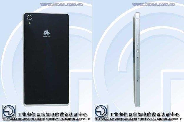 Huawei Ascend P7: Bilder und erste Spezifikationen des neuen Topmodells gesichtet