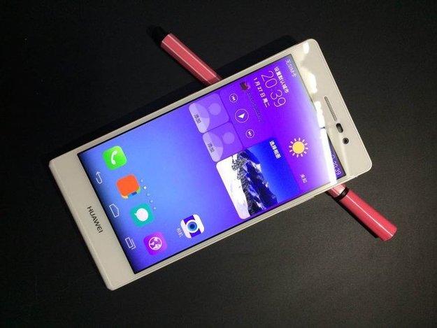 Huawei Ascend P7: Bilder zeigen neues Topmodell von allen Seiten