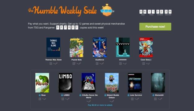 Humble Weekly Sale: Thomas Was Alone, Limbo, Lone Survivor und mehr im Paket