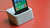 iPhone-Ständer von hardwrk: Hoffentlich ist es Beton