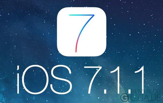 iOS 7.1.1: Firmware-Update kommt in Kürze