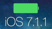iOS 7.1.1 verbessert Akkulaufzeit deutlich