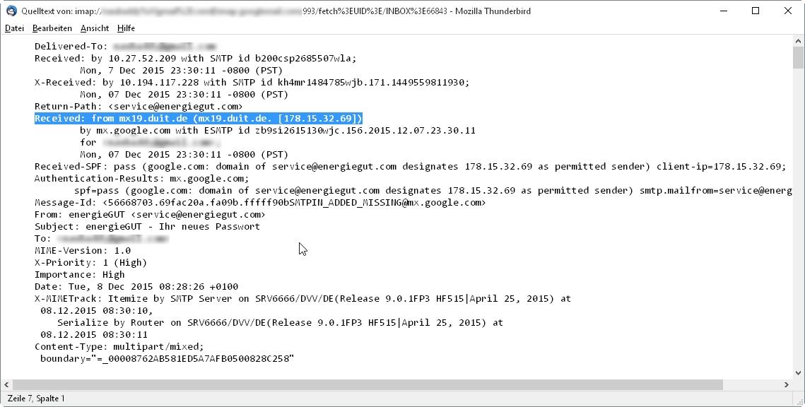 IP Nachverfolgung - Allmystery