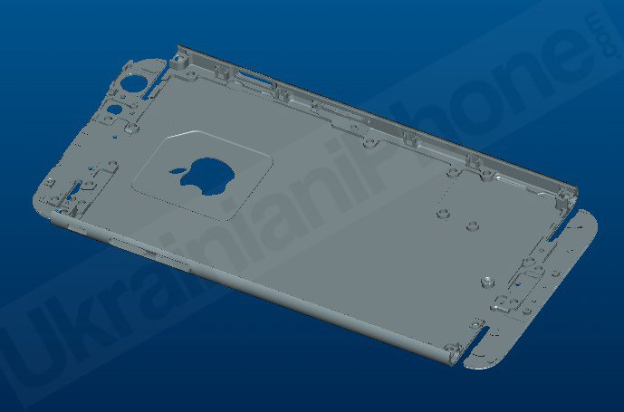 iPhone 6 Unibody-Innenseite