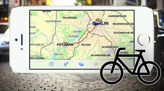 Fahrrad-Navigation: 5 iPhone-Apps im Test