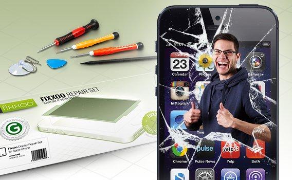 iPhone kaputt? Das hilft: iPhone-Reparaturset von GIGA und Fixxoo