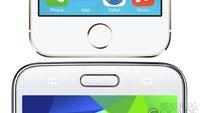 iPhone 5s vs. Galaxy S5: Fingerabdruckscanner im Vergleich (Video)