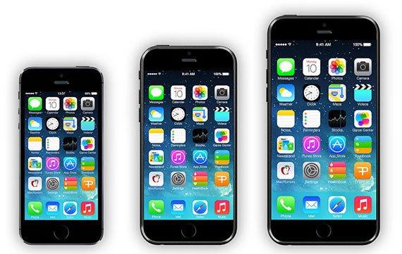 """iPhone 6 mit 4,7""""-Display anscheinend im September, 5,5""""-Modell später"""
