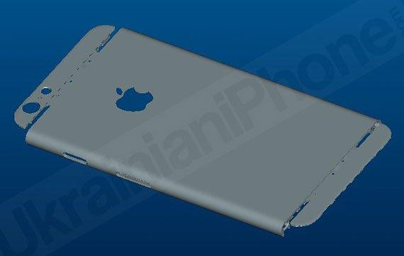 iPhone 6 Renderings aufgetaucht, zeigen 6 mm dünnes Design