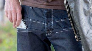 Jeans fürs iPhone mit Strahlenschutz (Kaules Bettmümpfeli)